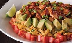 California Pizza Kitchen BBQ Chopped Salad...boy do I miss this beauty!