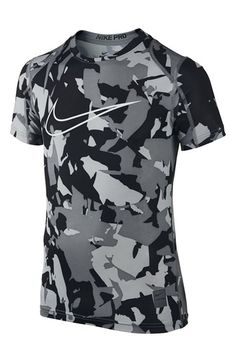 Camiseta Nike Hypercool Max ajustada-Blanco Azul metalizado ... a8ed47d26b0