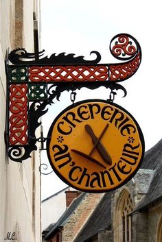 Crêperie Sign.