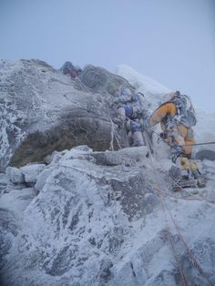 Heading up for a summit on the south side