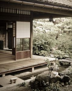 Nomura House in Kanazawa, Japan - not until studying architecture did I really understand how elegant and beautiful this is.