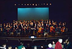 Orchestral Concert at the Marlowe Theatre, March 2000
