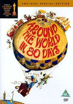 Around the World in Eighty Days (1956) I love this movie for all the different cultures you see an also the great personalities