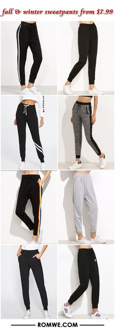 Sweatpants have changed. for the better Look Fashion, Teen Fashion, Autumn Fashion, Fashion Outfits, Womens Fashion, Fashion Trends, Sport Outfits, Cool Outfits, Casual Outfits