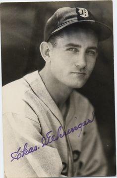 Chas (Charlie) Gehringer - Detroit Tigers
