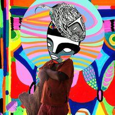 Detalhe de uma das prints que vou estar expondo amanhã no @dasnuvens abre as 19hs !! #rimon #colors #africanism #afrobrasil #art #artnow #colage #print #gambia #rimonguimaraes #blackisbeautiful #artecontemporanea #contemporaryart by rimonguimaraes