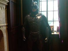 A real Batman costume (George Clooney I think) from the home office of an old client. Never tired of seeing this when I'd walk thru the door. Smiles and goose bumps...always.