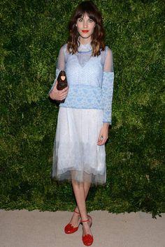 Todas las fotos de los premios CFDA Vogue Fashion Fund: Alexa Chung