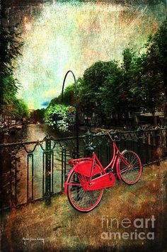The Red Bicycle by Randi Grace Nilsberg