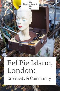 Creativity & Community on London's Eel Pie Island - Little Observationist Interesting Stories, Little Black Books, Color Photography, Places To Go, Creativity, Bucket, Pie, Community, Memories