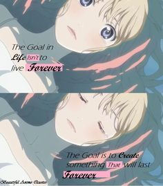 Something that will Last Forever..Kaori