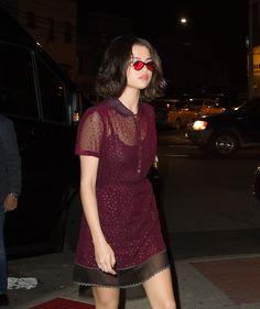 September 12: Selena arriving at Park Side Restaurant in Queens, NY [HQs]