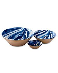 Danish design duo Claydies throw and glaze bowls made from London clay by hand. The durable bowls are ovenproof, too. From $65; velocityartanddesign.com.