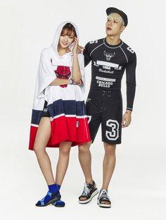 Jeongyeon and Jackson Mark Jackson, Got7 Jackson, Jackson Wang, Nba Fashion, Korean Fashion, Nayeon, Twice Jungyeon, Kim Doyeon, Dahyun