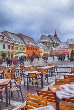 On How to Get to Transylvania - The Adventures of Kiara Yew Romania Map, Romania Travel, Transylvania Romania, Winter Scenery, Going On A Trip, City Streets, Best Cities, Eastern Europe, Where To Go