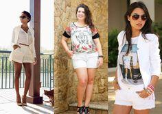 Shorts chics pro verão - Moda it