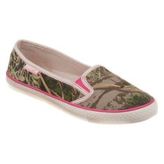 Realtree Girl Women's Leah Canvas Slip-On Shoes . . i have these and they are so comfortable