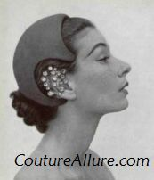 Vintage Cocktail Hat 1952
