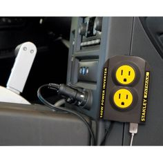 Stanley FatMax Power Inverter with Bonus Keychain LED Light Image 3 of 4 Tool Organization, Tool Storage, Organizing, My Christmas Wish List, Off Grid Cabin, Light Images, Electronics Projects, Things To Buy, Walmart