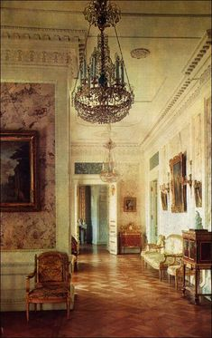 Ladies-in-Waiting Room - Pavlovsk Palace & Park - Country Residence of the Russian Imperial Family