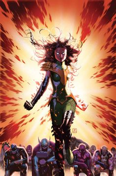 Hope Summers Looks like the Phoenix force is strong with this one…