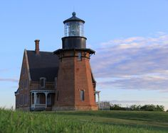 Southeast Lighthouse Block Island Photography Coastal by NJSimages