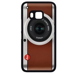 Tanned Leather Leica CameraPhonecase Cover Case For HTC One M7 HTC One M8 HTC One M9 HTC ONe X