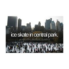 The Perfect Bucket List .  ♥