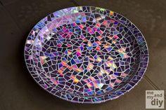 Como fazer um mosaico de CDs? Acompanhe o passo a passo