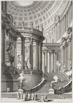 Ancient Temple Lacma Collections - Ancient Temple Giovanni Battista Piranesi Italy Mogliano Italy Circa Prints Etching With Engraving And Drypoint Architecture Temple, Architecture Baroque, Classic Architecture, Architecture Drawings, Ancient Architecture, Architecture Details, Renaissance Architecture, Landscape Architecture, Ancient Rome
