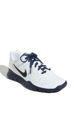Lightweight White & Navy Cross Training Nike Shoe