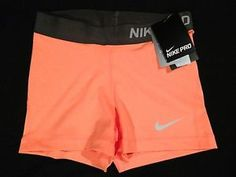 "Women's Nike 3"" Pro Core Compression shorts spandex"