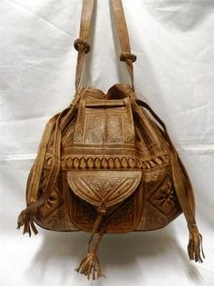 Gorgeous moroccan leather bag