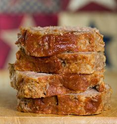 ~Brown sugar meatloaf~  1/2 cup brown sugar;  1/2 cup ketchup;  1 1/2 pounds ground beef;  2 eggs, beaten;  3/4 cup milk;  1/2 cup chopped onion;  3/4 cup bread crumbs;