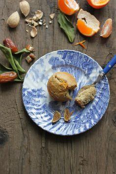 Petits repas entre amis: Muffins frangipane & érable aux zestes de clémentines