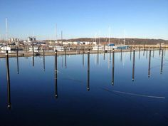 Harbor in Åbenrå (Aabenraa) in Denmark, South Jutland