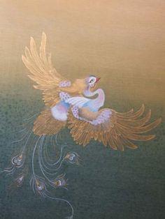 Klasik Türk Sanatları Vakfı Fenix Bird, Vector Design, Design Art, Phoenix Tattoo Feminine, Iranian Art, Bird Drawings, Islamic Calligraphy, Islamic Art, Art Pictures