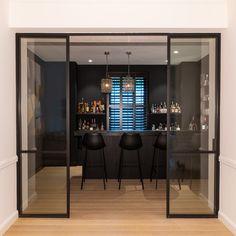 Dinning Room Bar, Dream Home Design, House Design, Cinema Room, Cozy Living Rooms, Pool Houses, Cool Rooms, Bars For Home, Living Room Designs