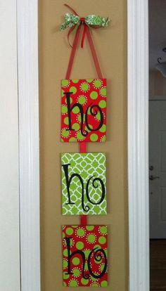 Homemade Christmas Door Hanger Decoration Ideas_10
