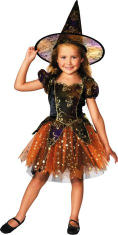 Girls Elegant Witch Costume - Witches, Devils & Pirates - Toddler Girls Costumes - Baby, Toddler Costumes - Halloween Costumes - Categories - Party City