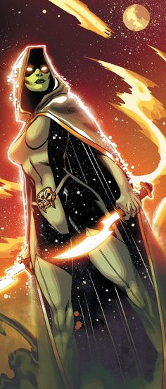 Gamora from the Black Vortex