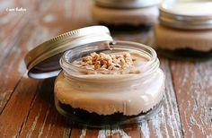 Cheesecake in a jar... super cute gift idea!