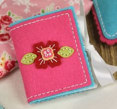 Sewing Staples: Needle book cover } Papertrey Ink