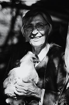 Crone and a Chicken