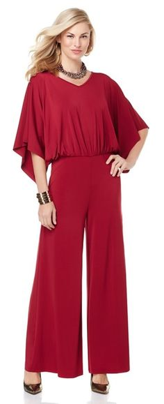 Rock this stylish @kylerichards18 jumpsuit and feel fierce & fabulous! Glam up the look with your favorite shoes and accessories. How would you style it?