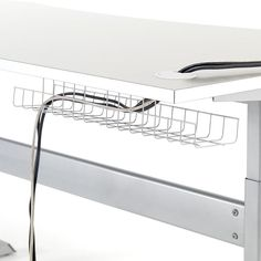 Buy Desk Accessories online such as document holders, cable trays, waste bins, etc. Cable Tray, Hide Cables, Buy Desk, Laptop Storage, Waste Paper, Office Accessories, Built In Storage, Storage Solutions, Space Saving