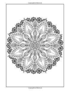 Flower Designs Coloring Book Volume 1 Jenean Morrison