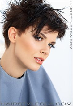 Cropped Hairstyle with Texture