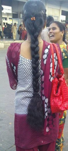 Indian Hairstyles, Braided Hairstyles, Cool Hairstyles, Indian Long Hair Braid, Ponytail Updo, Beautiful Braids, Cut My Hair, Beautiful Women Pictures, Braids For Long Hair