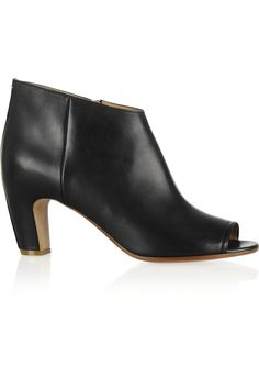 Maison Martin Margiela|Leather ankle boots|NET-A-PORTER.COM